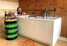 Beer spa in Harrachov, Liberec, Czech Republic