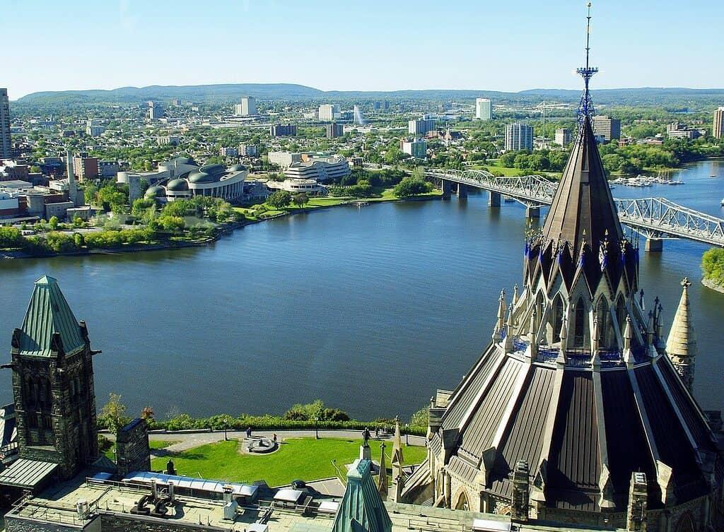 experiencing Canada Day in Ottawa