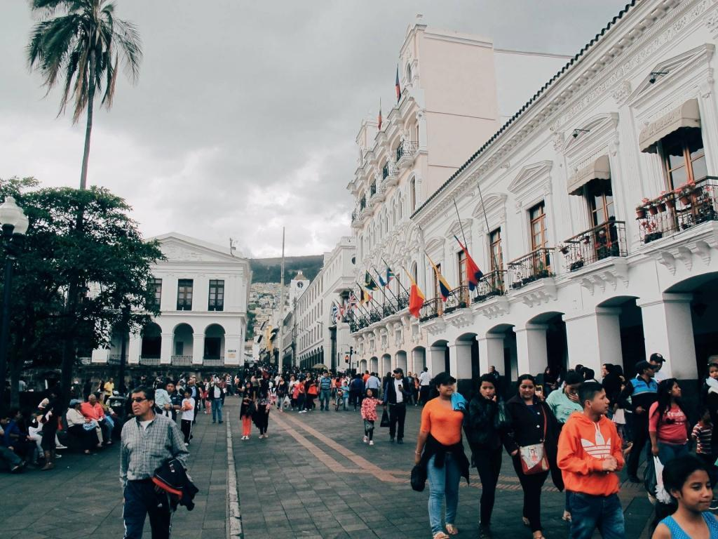 Visiting Quito in Ecuador
