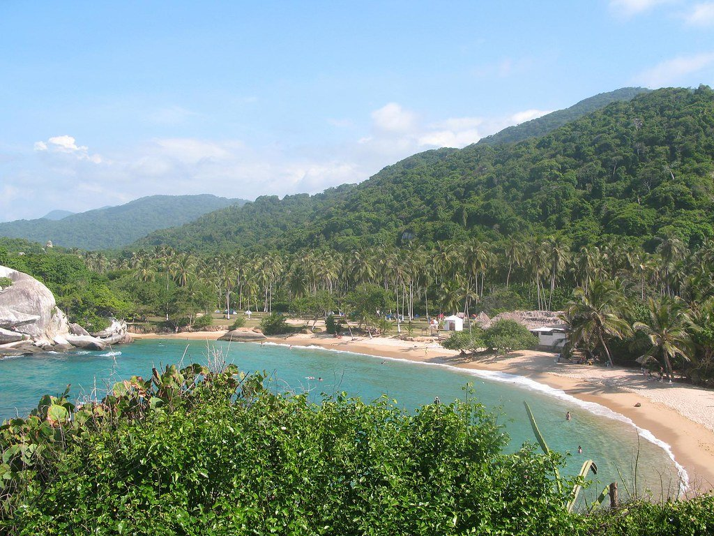 Ecotourism in Colombia - Bahia Aguacate