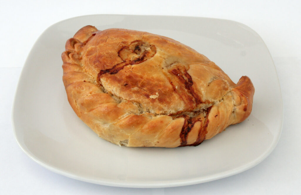 Best cornish pasties in Cornwall