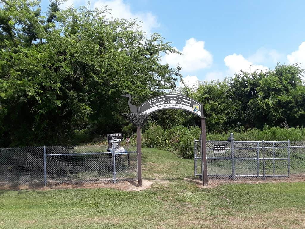 Virginia wildlife & birding trail, USA