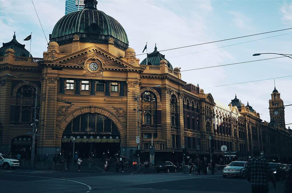 Flinders Street Railway Station, Melbourne, Australia