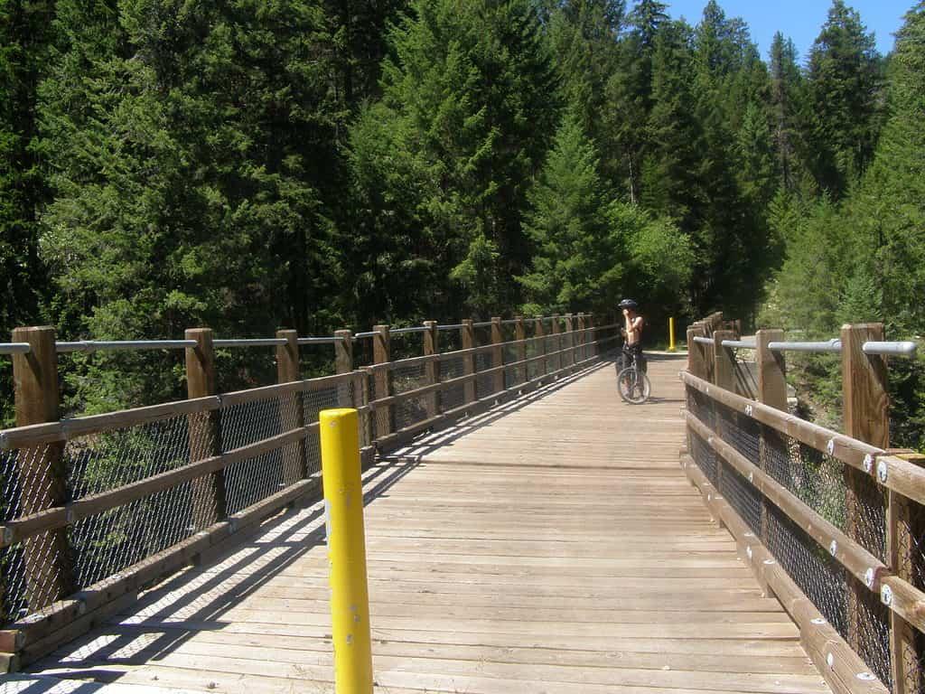 Biking the Kettle Valley Railway Trail in British Columbia, Canada