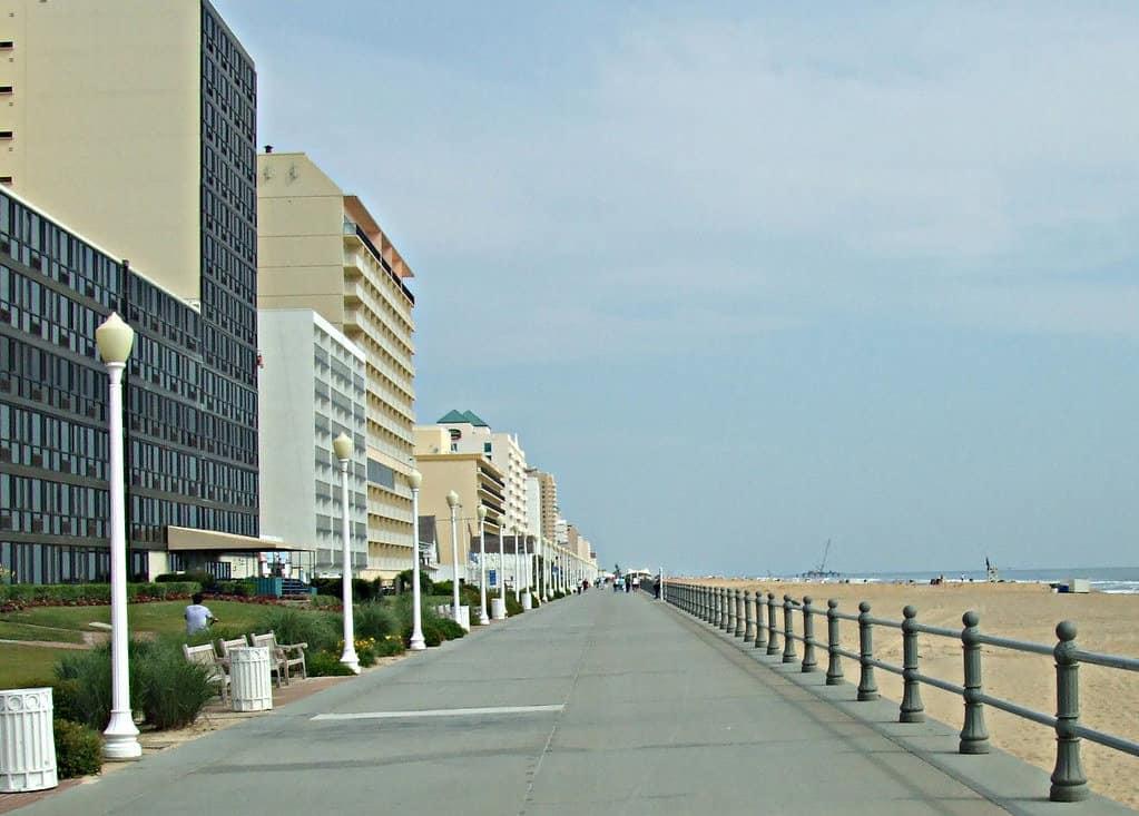 Virginia Beach Oceanfront Boardwalk