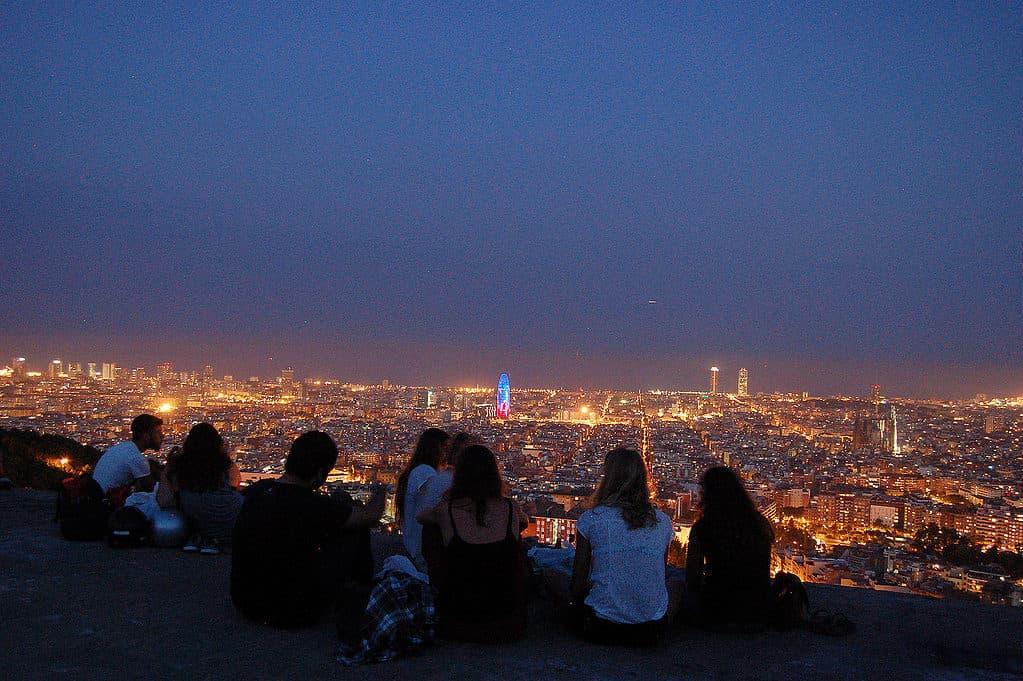 Views in Barcelona