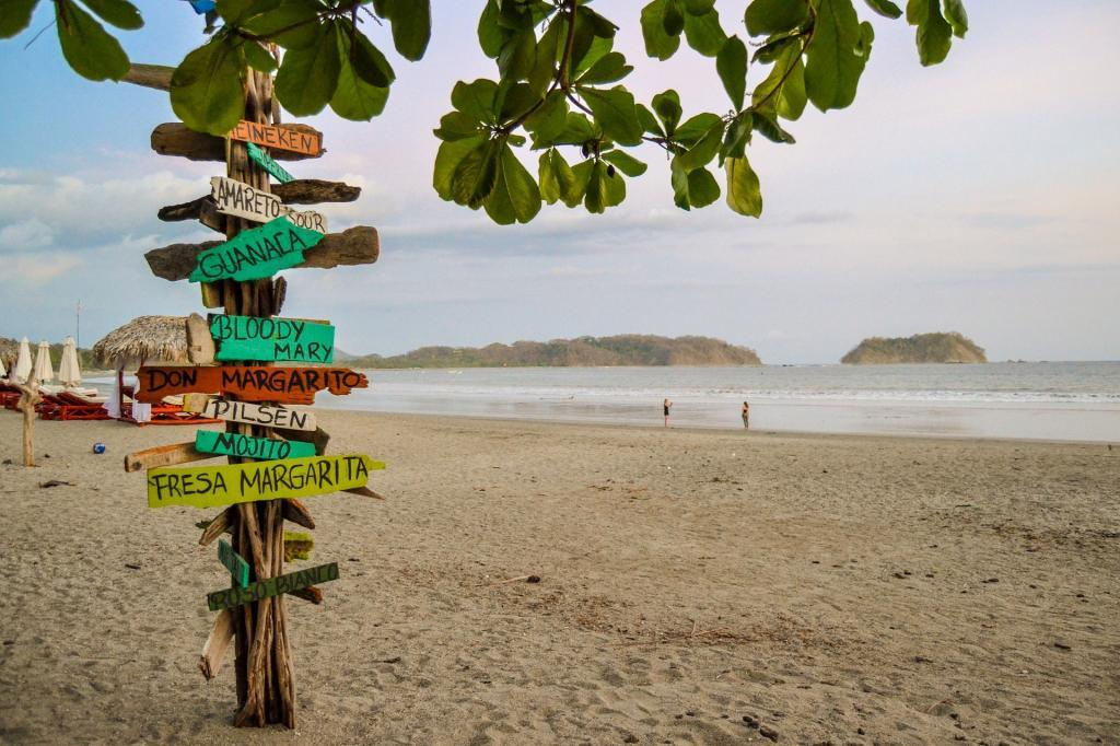 Playa Samara in Costa Rica