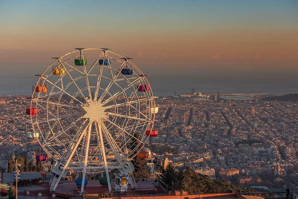 Views in Barcelona, Spain