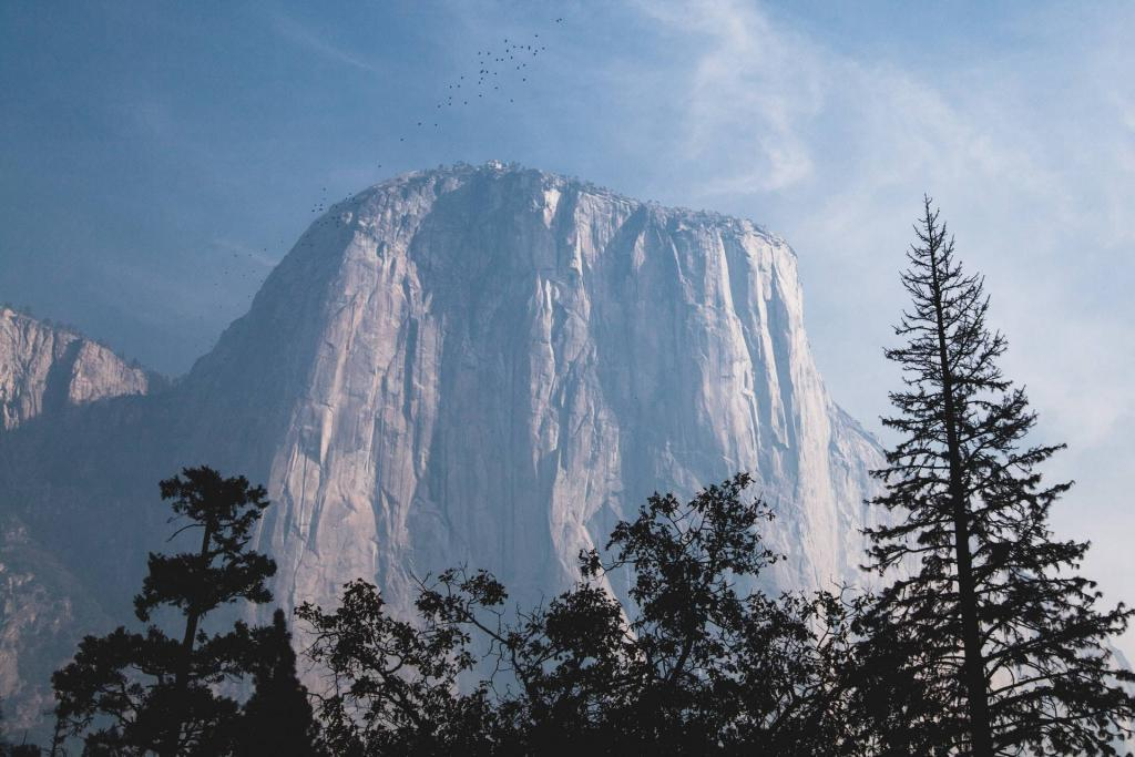 El Capitan in Yosemite Valley National Park, USA