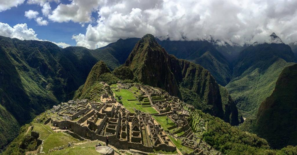 Hiking to Machu Picchu in Peru