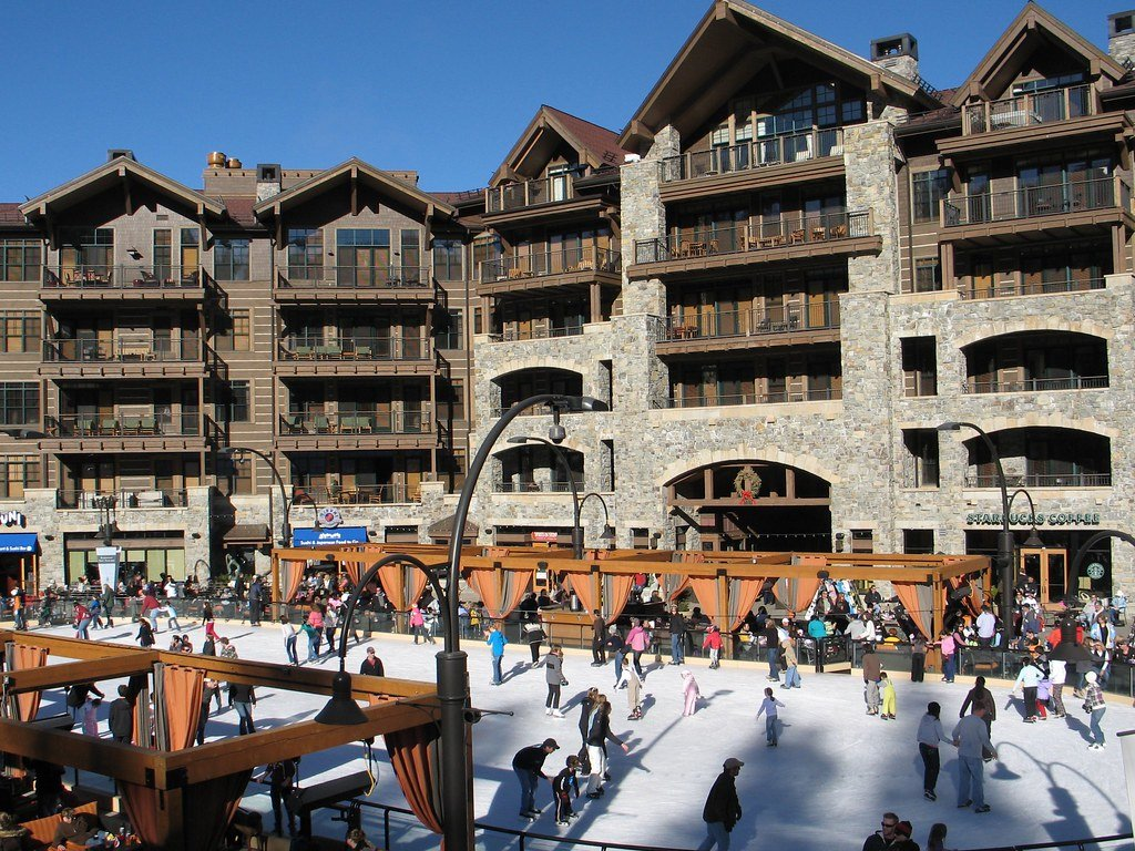 Northstar Village in Lake Tahoe, California