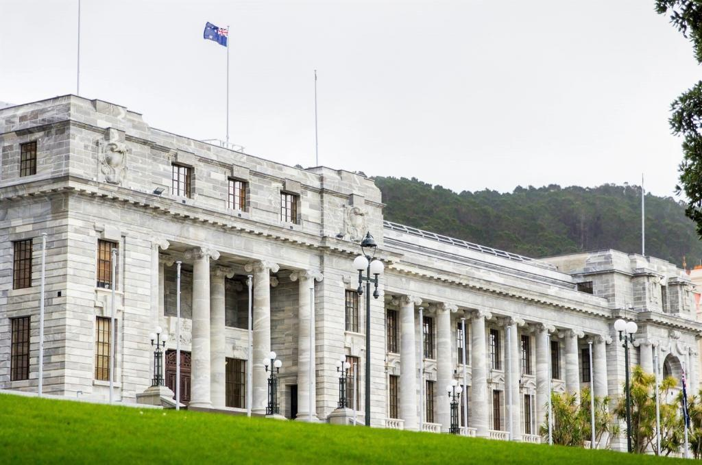 Houses of Parliament in Wellington, New Zealand