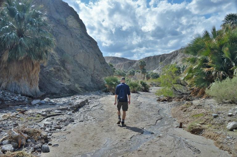 Hiking Along the San Andreas Fault in Southern California