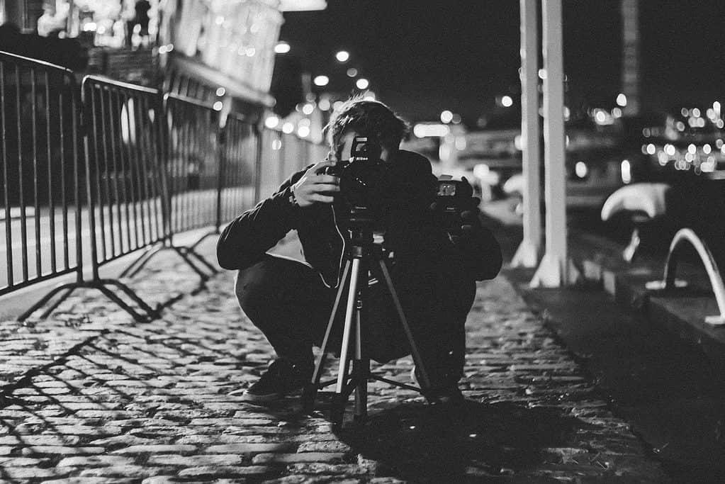 Street photography gear: Tripod