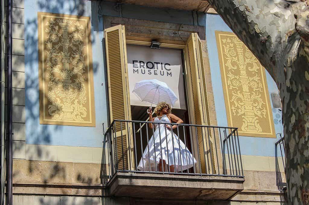 Erotic Museum in Barcelona, Spain