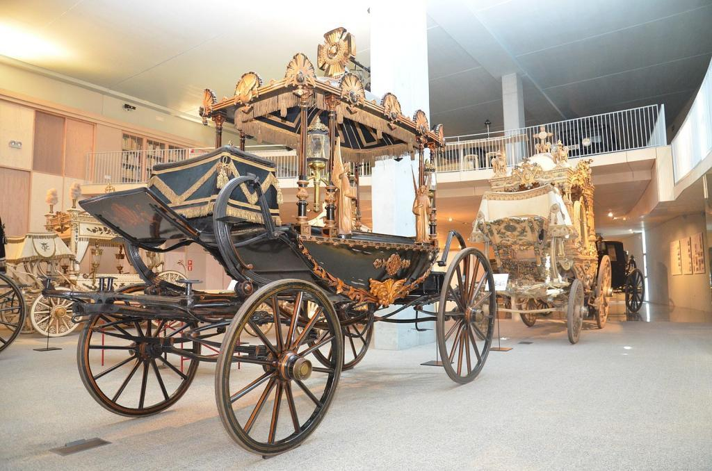 Museum of Funeral Carriages in Barcelona