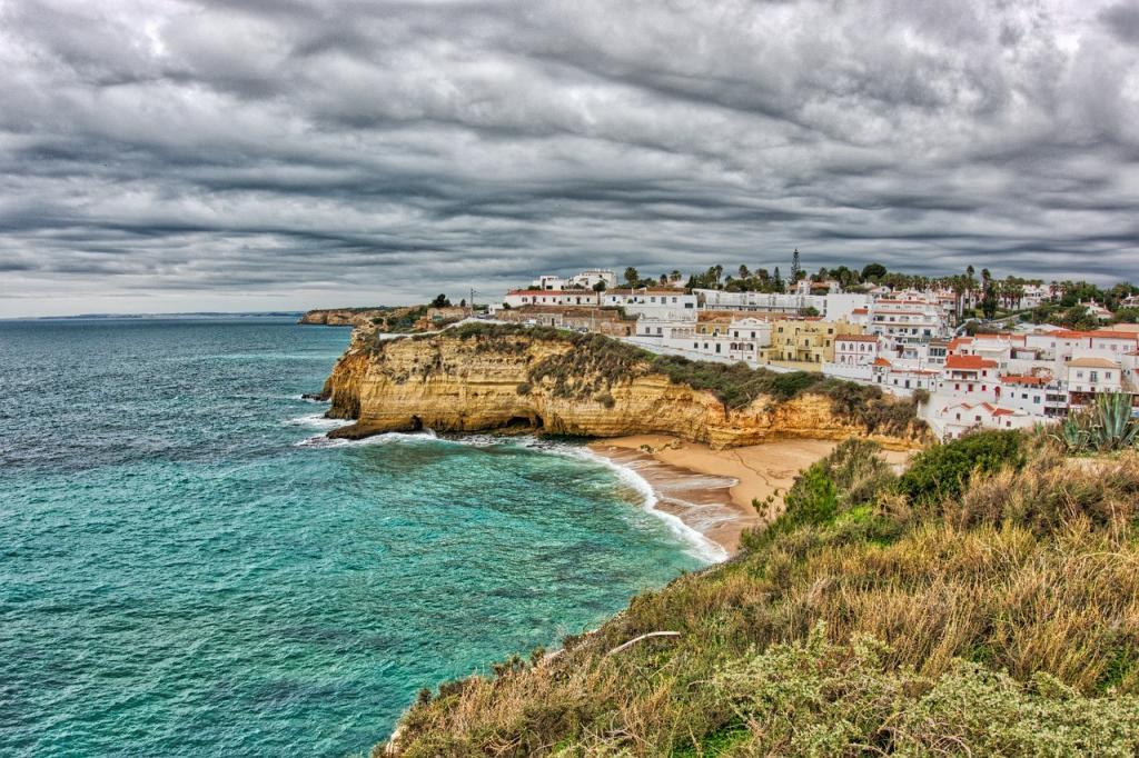 Beaches in Algarve, Portugal