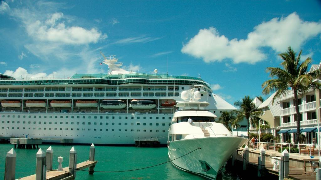 How to get to Key West by sea
