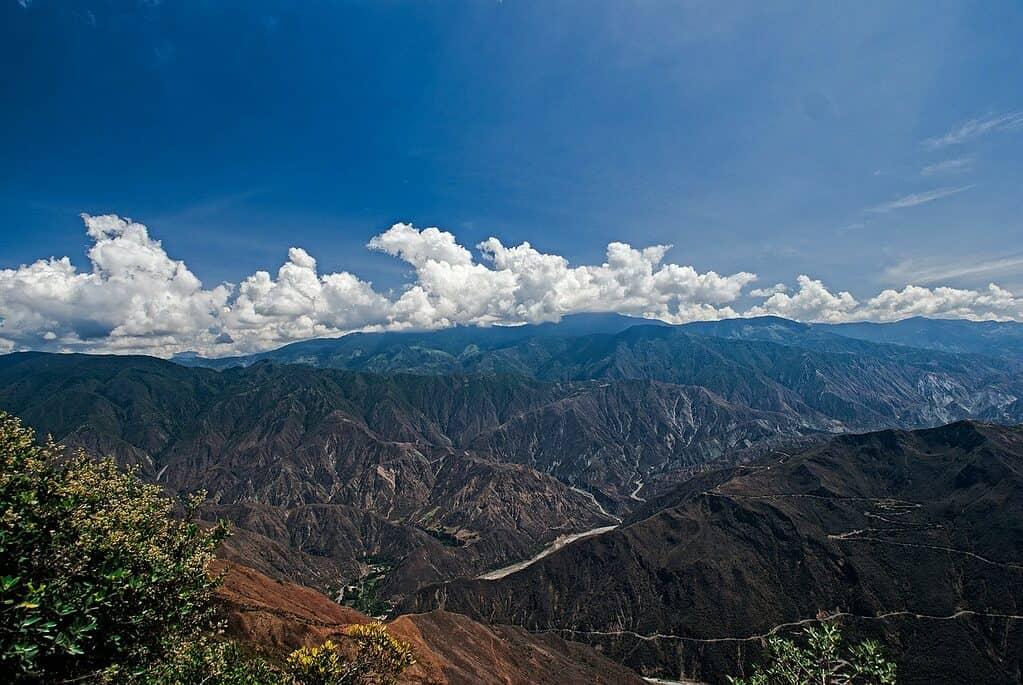 Sightseeing in Colombia - Mesa de Los Santos