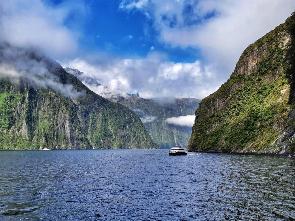 Milford Sound day trip, New Zealand