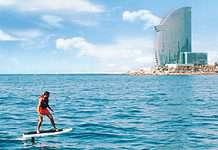 Water sports in Barcelona
