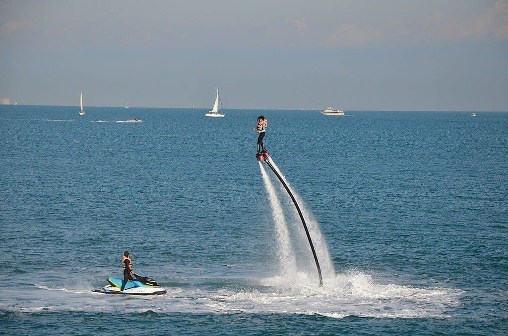 flyboarding barcelona
