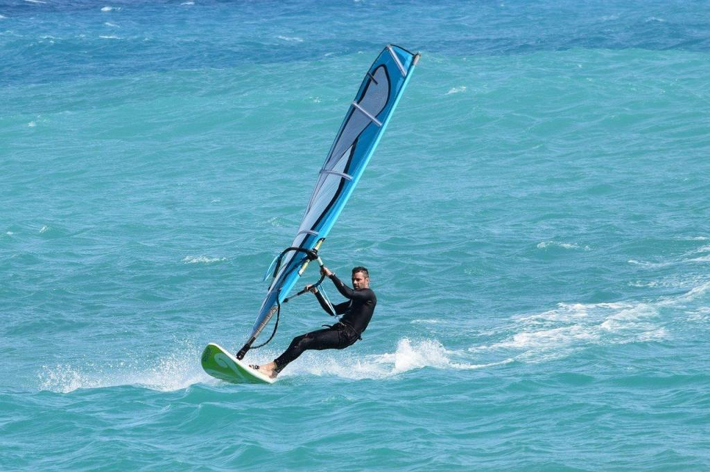 Windsurfing in Barcelona