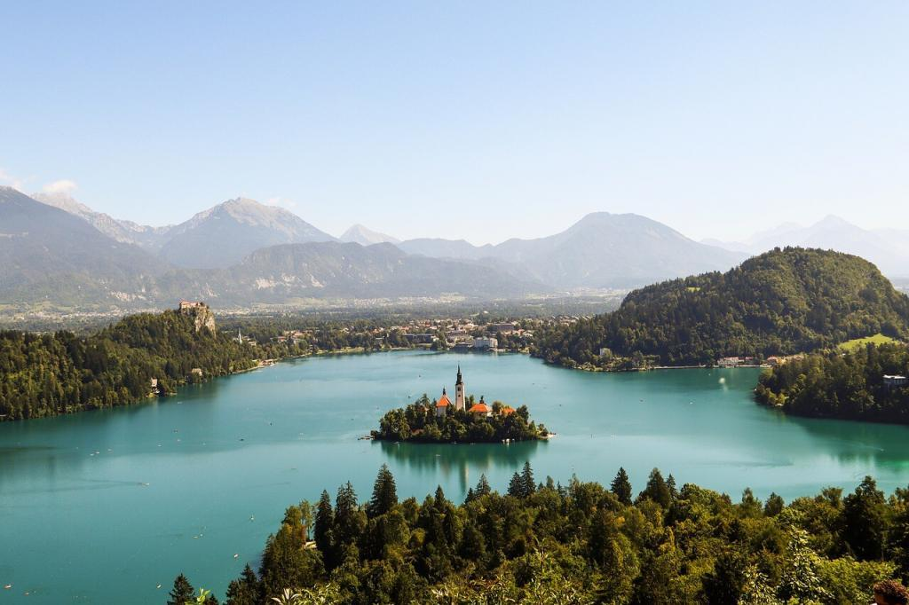 Eastern Europe attractions - Lake Bled, Slovenia