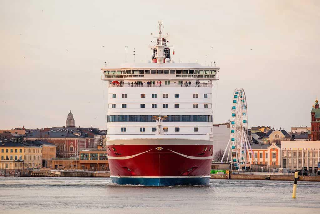 Helsinki a Tallin en ferry Viking Line