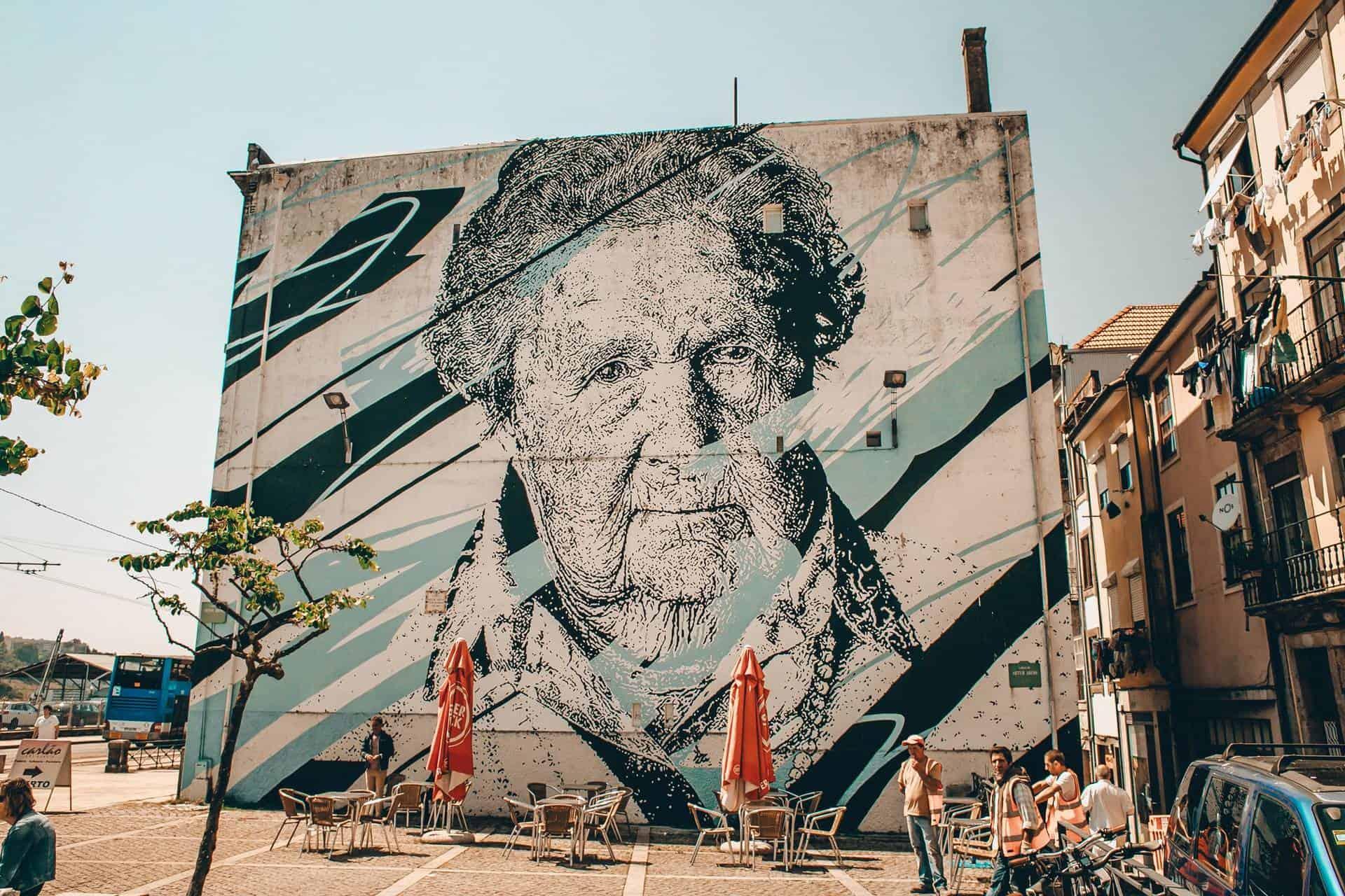 Porto street art, Portugal