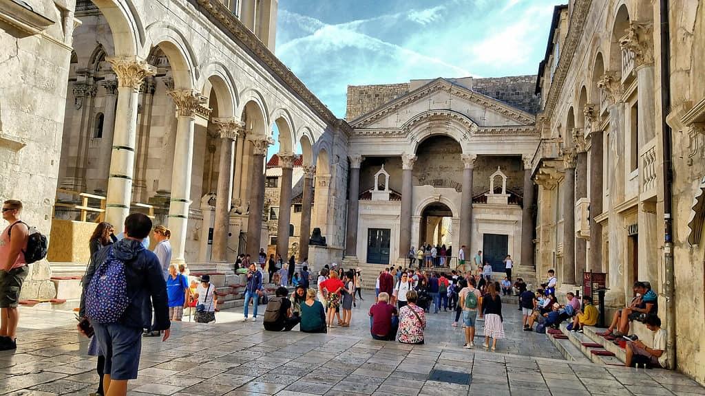 Visiting Split in Croatia