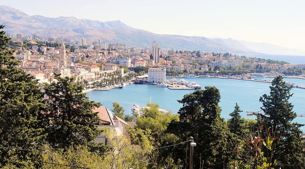 Views in Split, Croatia