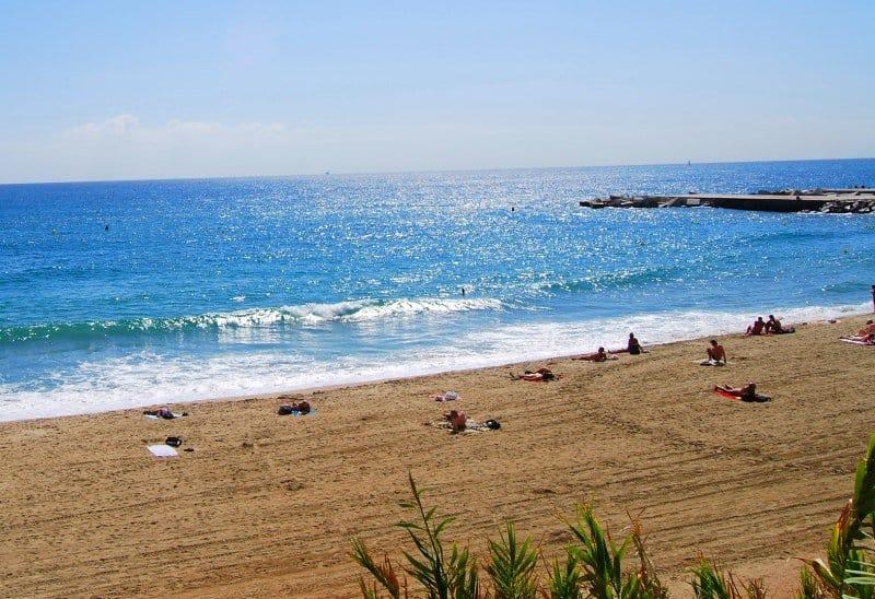 Beaches in Barcelona - Mar Bella