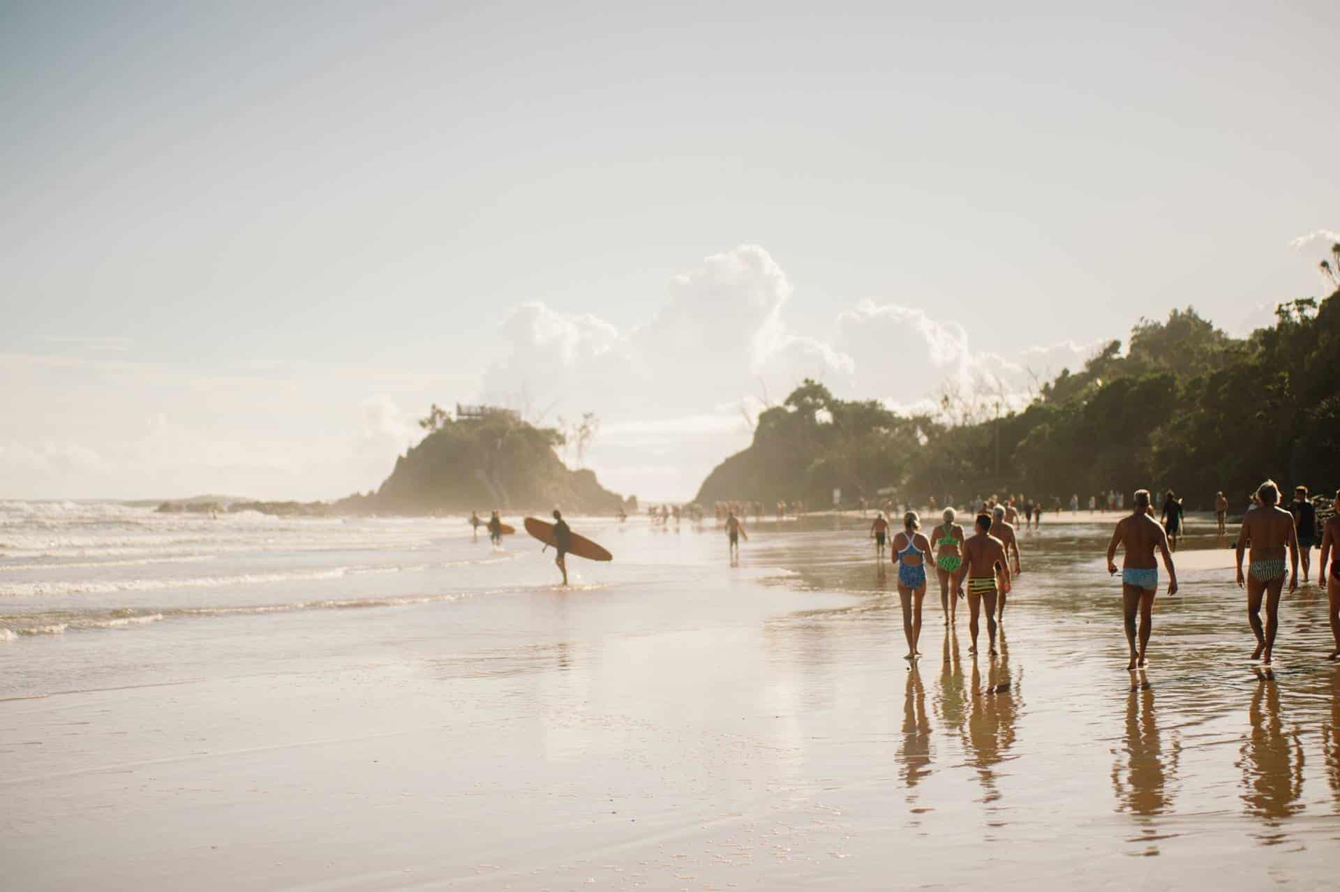 Surfing holidays in Byron Bay, Australia