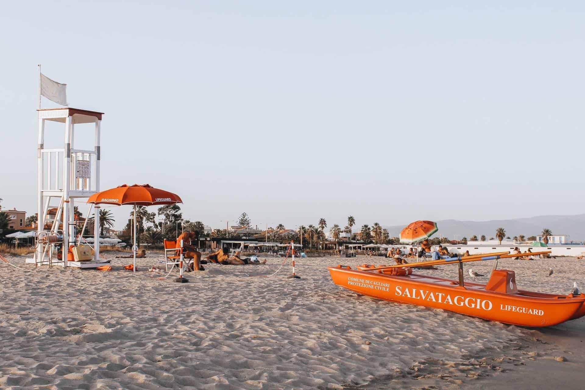 Cagliari Sardinia beaches