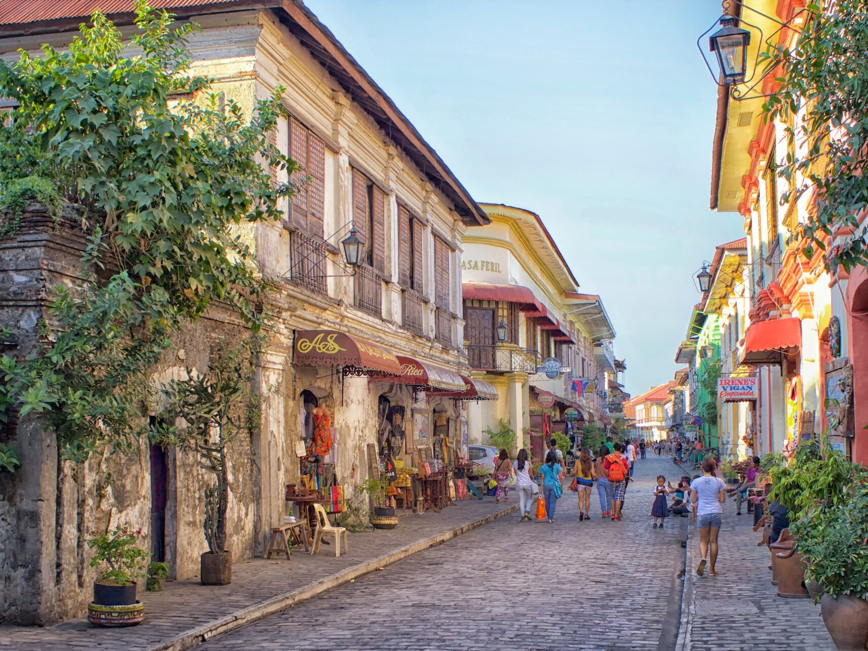 Vigan is the capital of the Province of Ilocos Sur